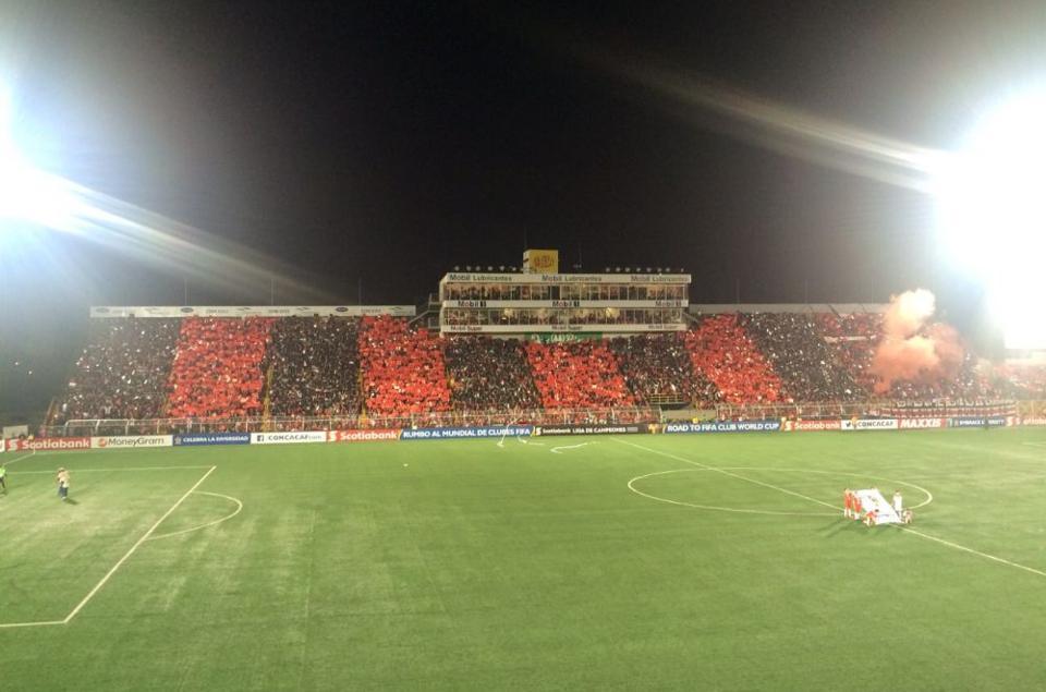 The Morera Soto stadium in Alajuela