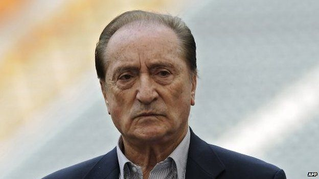 Eugenio Figueredo replaced Nicolas Leoz as Conmebol president in 2013