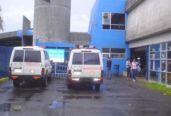 Guatuso Hospital in San Carlos