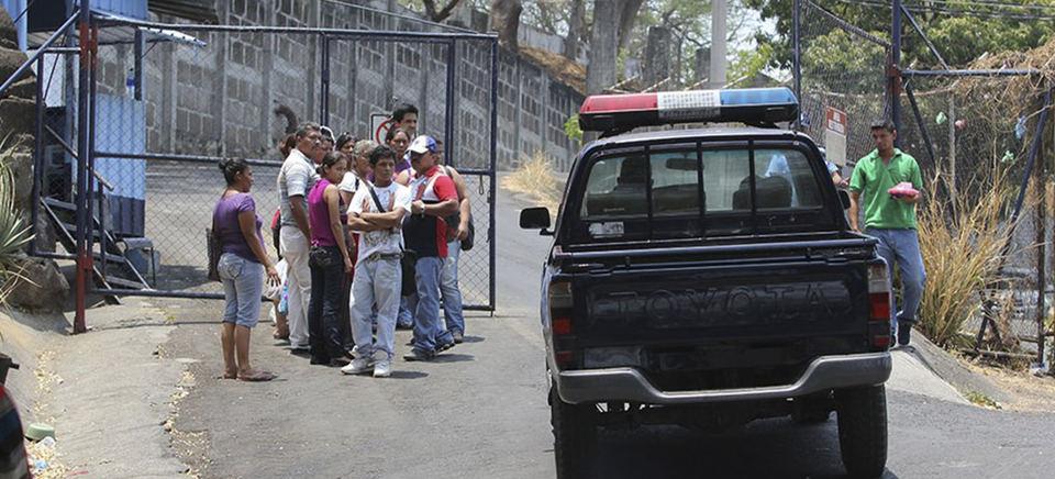 The El Chipote prison in Managua, Nicaragua