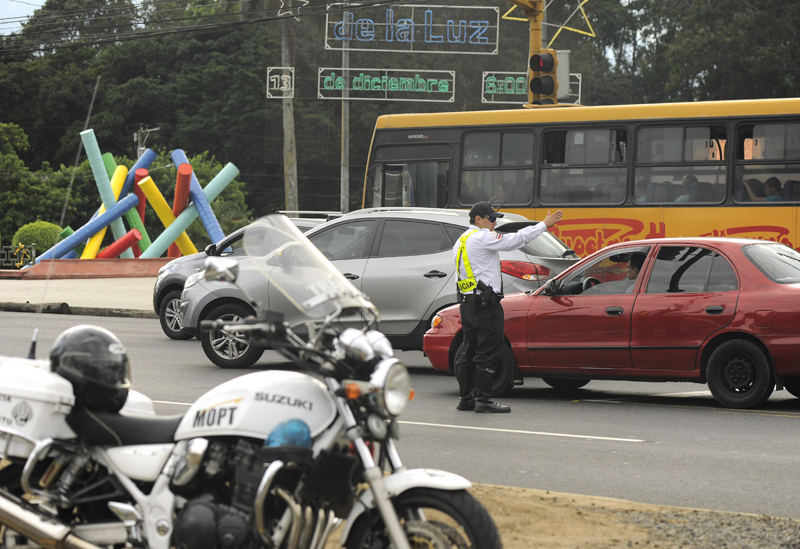 Traffic police official Rivera is exempt from working Saturdays, based on his religious beliefs, after a ruling by the Constitutional Court. Image for illustrative purposes.