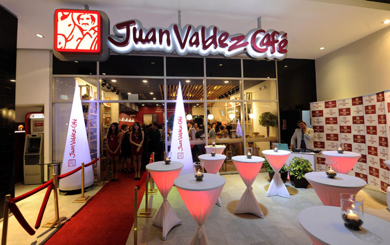 The Colombian coffee brand Juan Valdez opened its first store last month, in Rohormoser, with plans for more this year.
