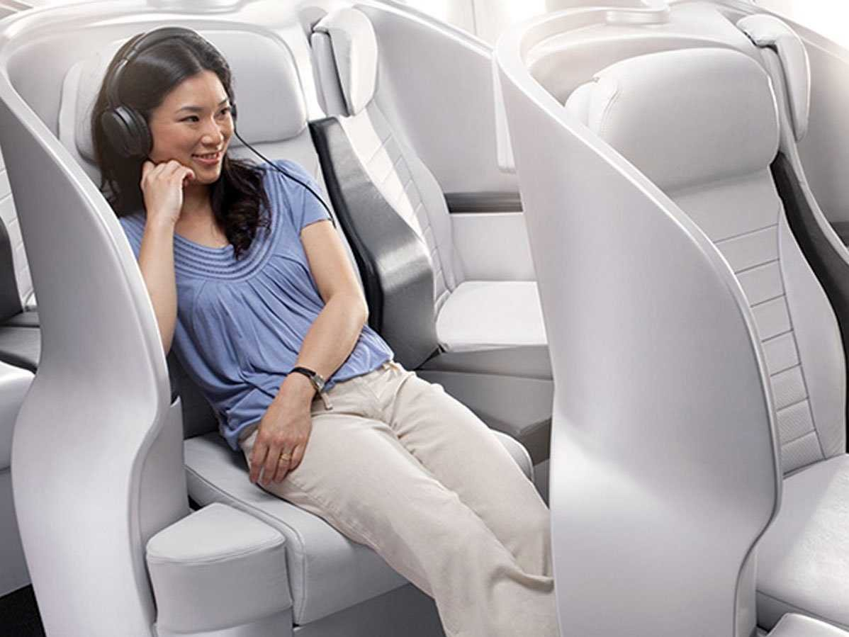 What do you get in Air new zealand premium economy images