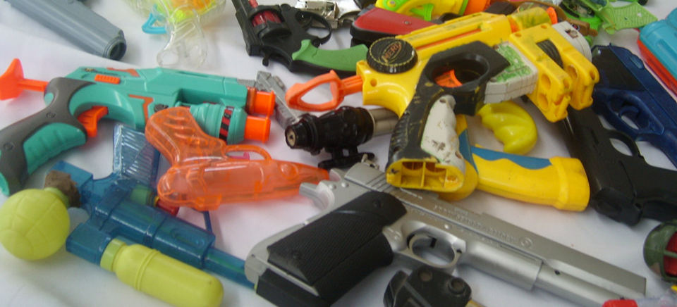 Toys such as water and pellet guns would be banned in Costa Rica
