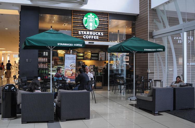 Starbucks in Costa Rica