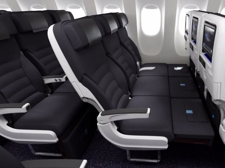 Air New ZealandAir New Zealand's Skycouch allows for a row of three economy seats to be converted into a flat bed.
