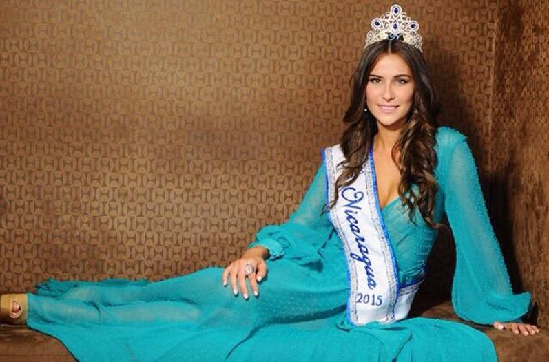 Daniela Torres, Miss Nicaragua, will be going to the Miss Universe
