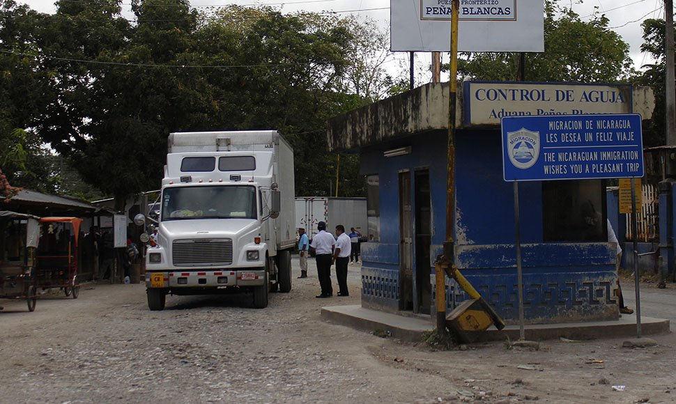 Nicaragua border at Peñas Blancas