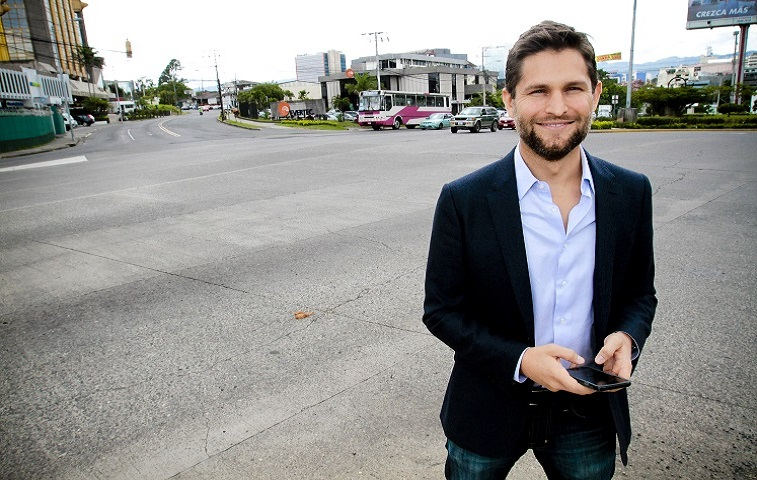 Humberto Pacheco, general manager of Uber Costa Rica