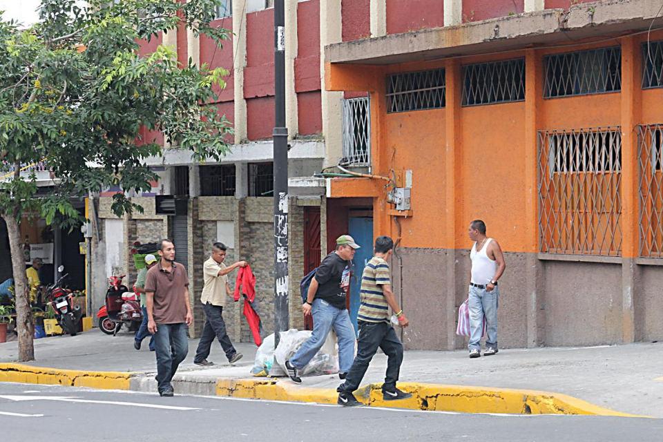 The streets of the Zona Roja. Photo Diario Extra