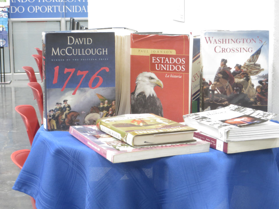 American history, and great works in American and English literature are part of what is available at the Cultural Center's Mark Twain Library.