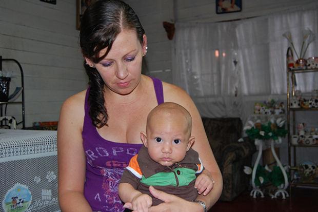Grethel Artavia and her son Alexey. Photo courtesy of Azul Films