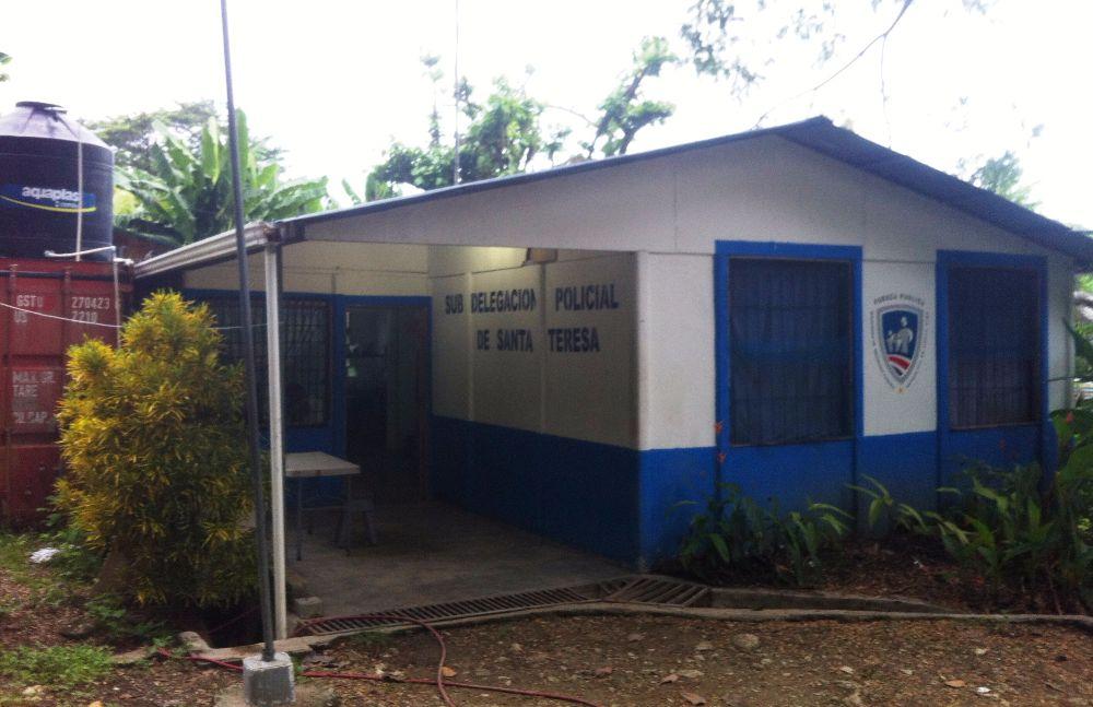 Santa Teresa police station