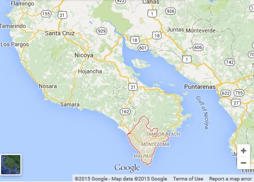 santa-teresa-nicoya-map