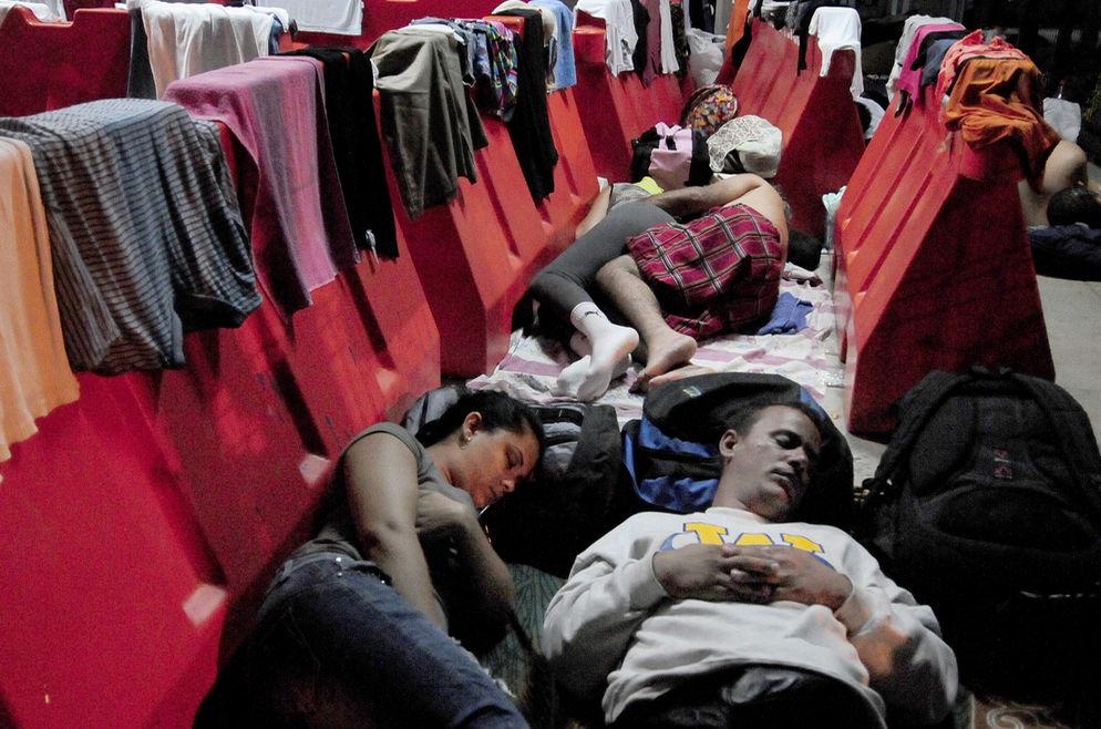 La crisis migratoria cubana en fotos