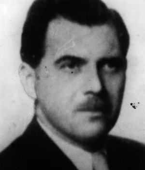 Josef Mengele, who evaded capture, c. 1950. (Credit: Keystone/Getty Images)