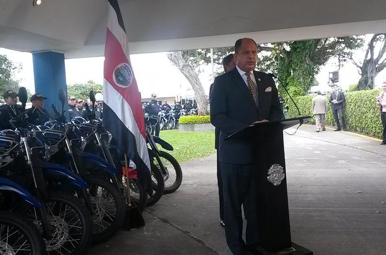 President Luis Guillermo Solis