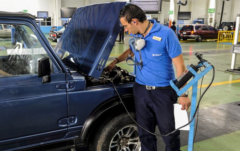 Riteve is a private company under contrast with the State to provide vehicular inspections in the country