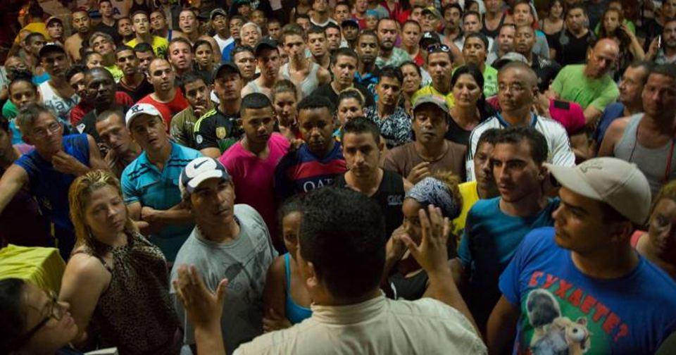 Cubans stranded in Costa Rica
