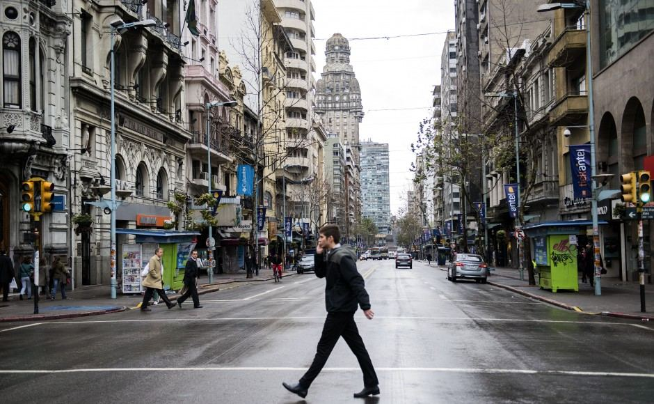 Montevideo, Uruguay. Photo: AP Photo/Matilde Campodonico