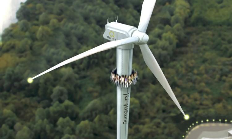 Tejona Wind Farm, overlooking Lake Arenal