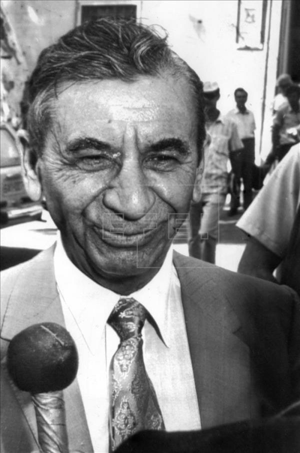 U.S. mobster Meyer Lansky. EFE/File