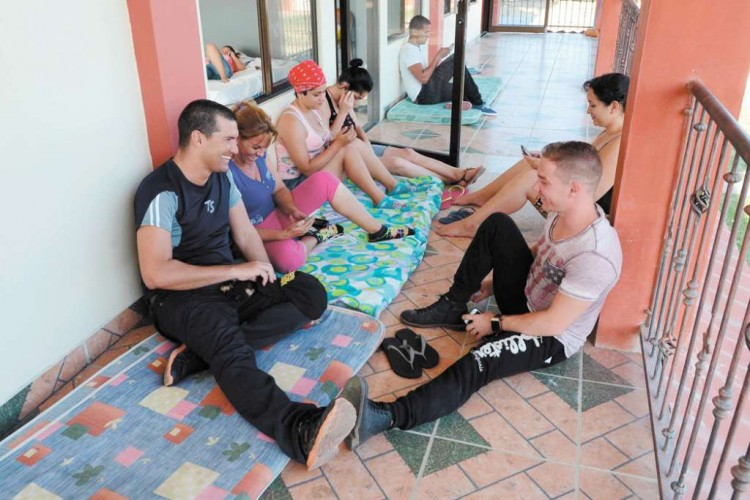 Cuba migrants stranded in Costa Rica anxiously await the first group to leave the country, expected next week