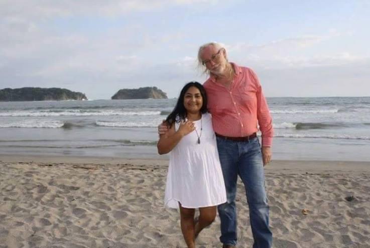 Hans Snelders and Sita Dhawtal