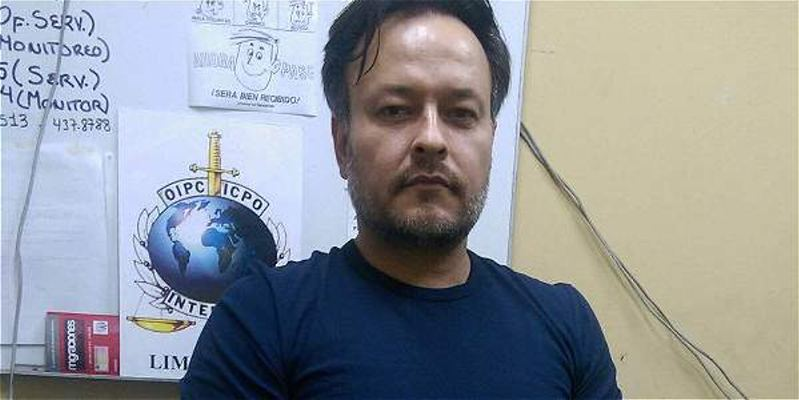 Carlos Hernández Ossa, 'Duncan' o 'Jerónimo'. Photo El Tiempo