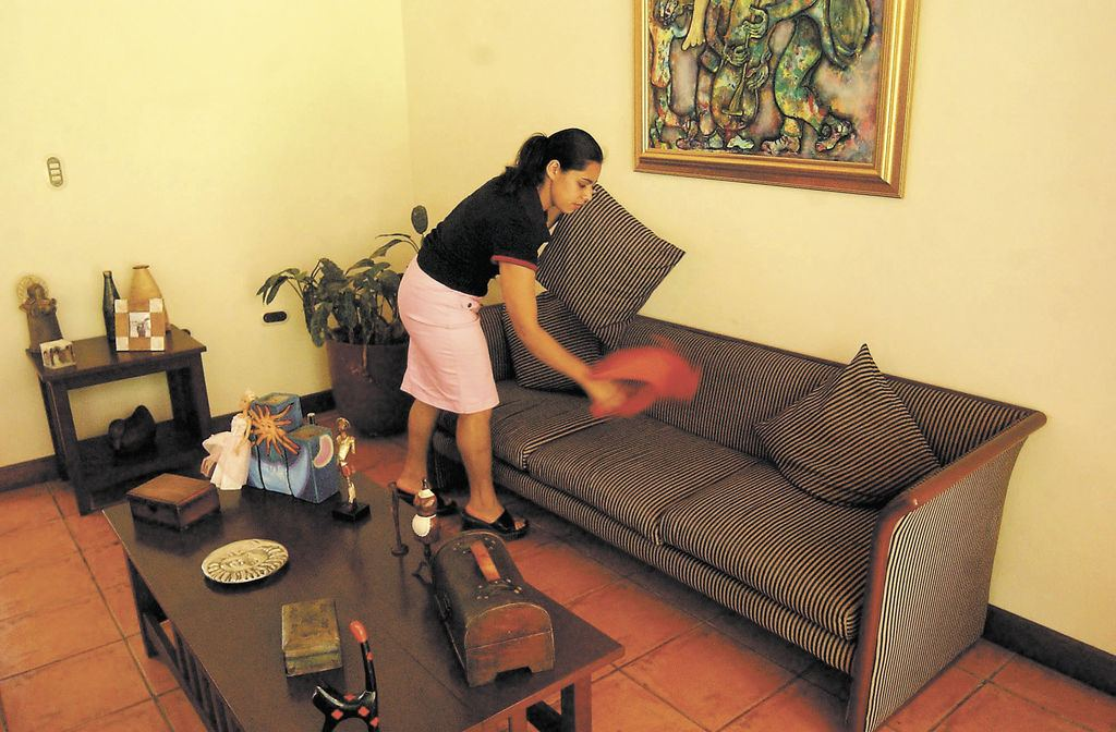 Empleadas domesticas. Maid in Costa Rica