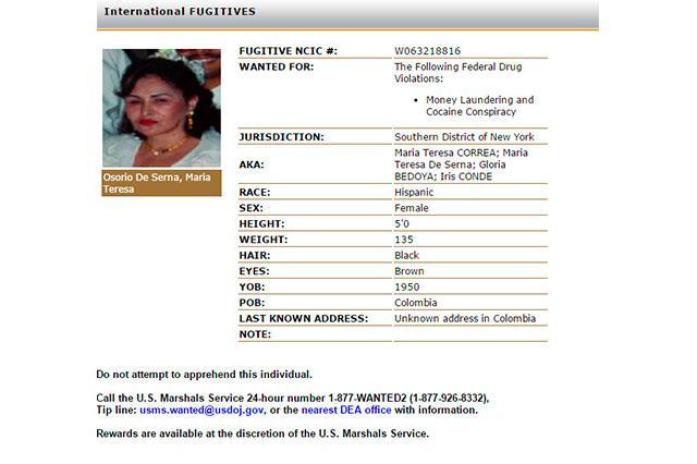 "Colombian Mystery Woman Tops DEA Most Wanted Following ""El"