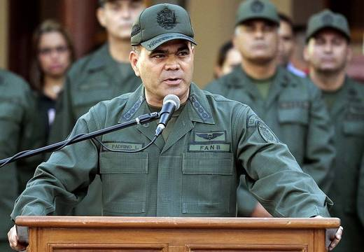 Minister Padrino López urged the new Parliament board to stop this type of actions (AFP)