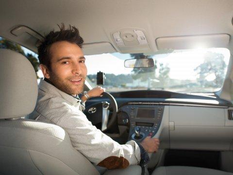 File photo Uber driver