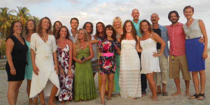 Costa Rica massage therapy graduates. Photo from CRSMT website