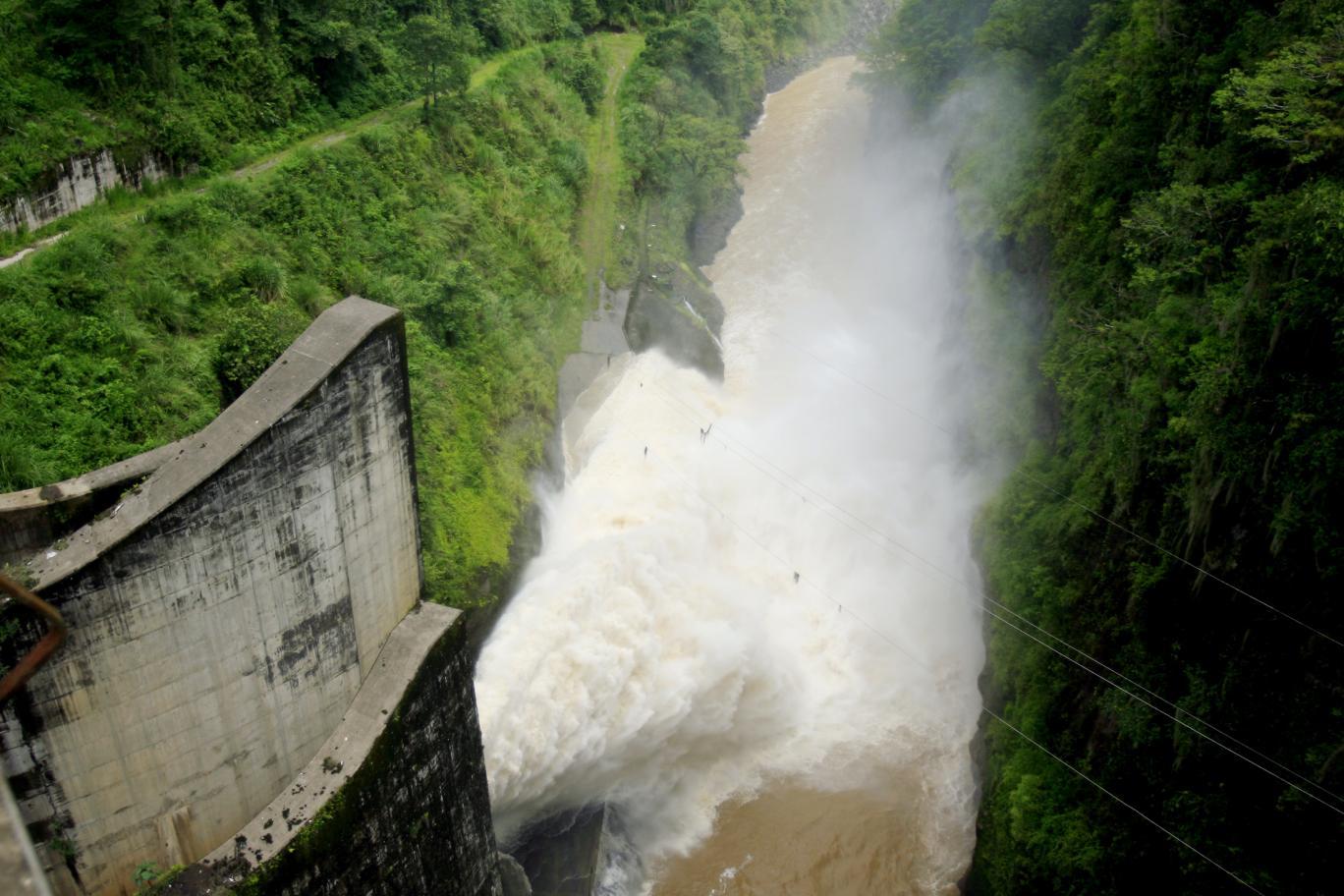 Cachi hydroelectric dam
