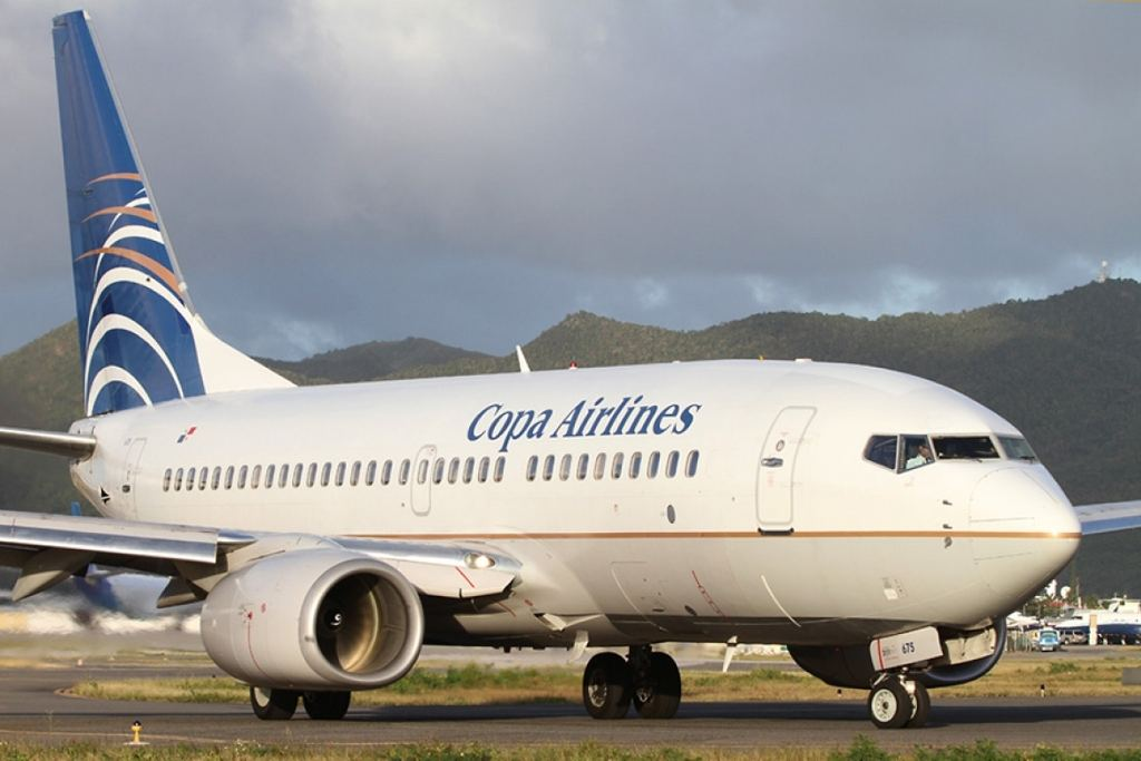Copa Airlines operates 66 fligths weekly between San Jose and Panama City