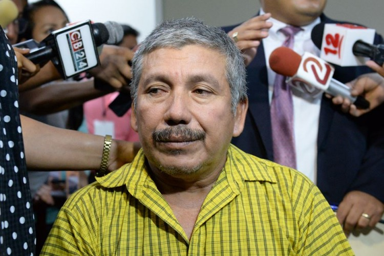 Hilaro Blandón, owner and captian of the Reyna del Caribe that capsized on Jan. 23, 2016, claiming the lives of 13 Costa Ricans. PHoto LA PRENSA/J. Flores