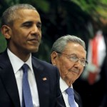 U.S. President Barack Obama attends a state dinner hosted by Cuban President Raul Castro in Havana