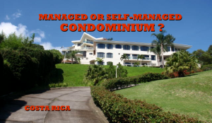 Costa Rica Condominium administration