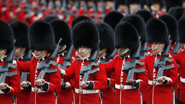 The Queen's Guards are great to photograph, but not to mess around with.