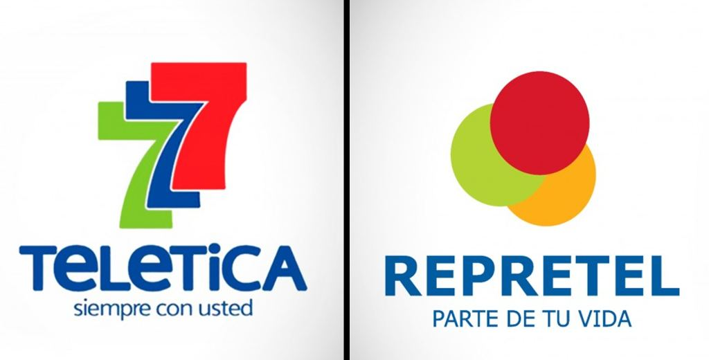 Teletica (Channel 7) and Repretel (Channels 4, 6 and 11) are Costa Rica's major news and television broadcasters.