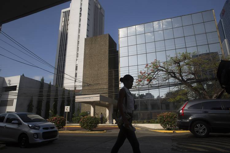 Offices of the Mossack Fonseca law firm in Panama City's financial district. Photo: Susana Gonzalez/Bloomberg News