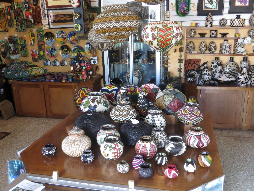 Woven plates, bowls and baskets, some of them collector's items, are from the Wounaan Tribe of Panama. They are representative of a highly skilled weaving tradition that has been passed down for generations.