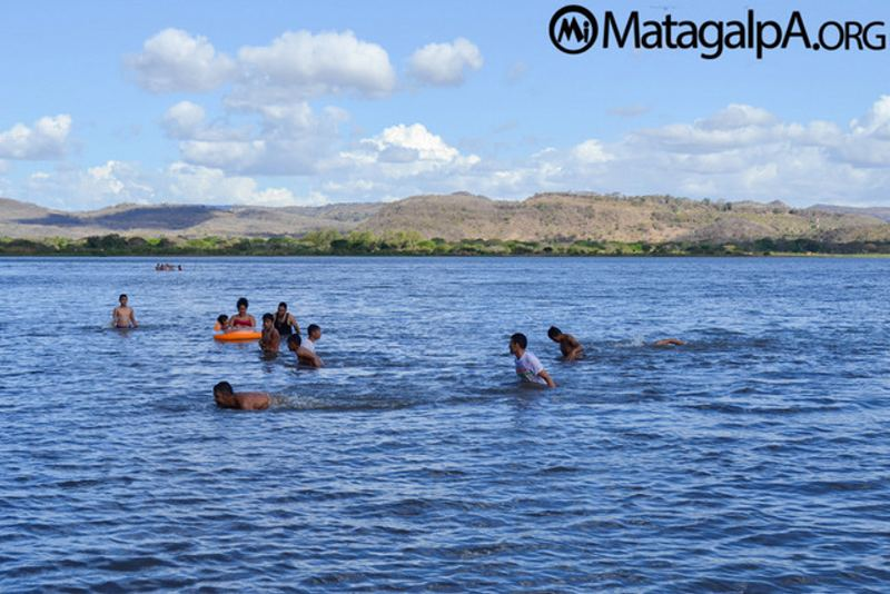 This is what Lake Moyúa in northern Nicaragua looked like before it lost 60 percent of its water due to the effects of the El Niño climate phenomenon, which in this Central American country has spelled drought. Credit: Matagalpa.org