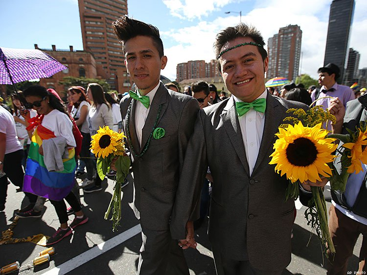 After three years in legal limbo, Colombia's Constitional Court ruled 6-3 that same-sex couples have a right to legally marry.