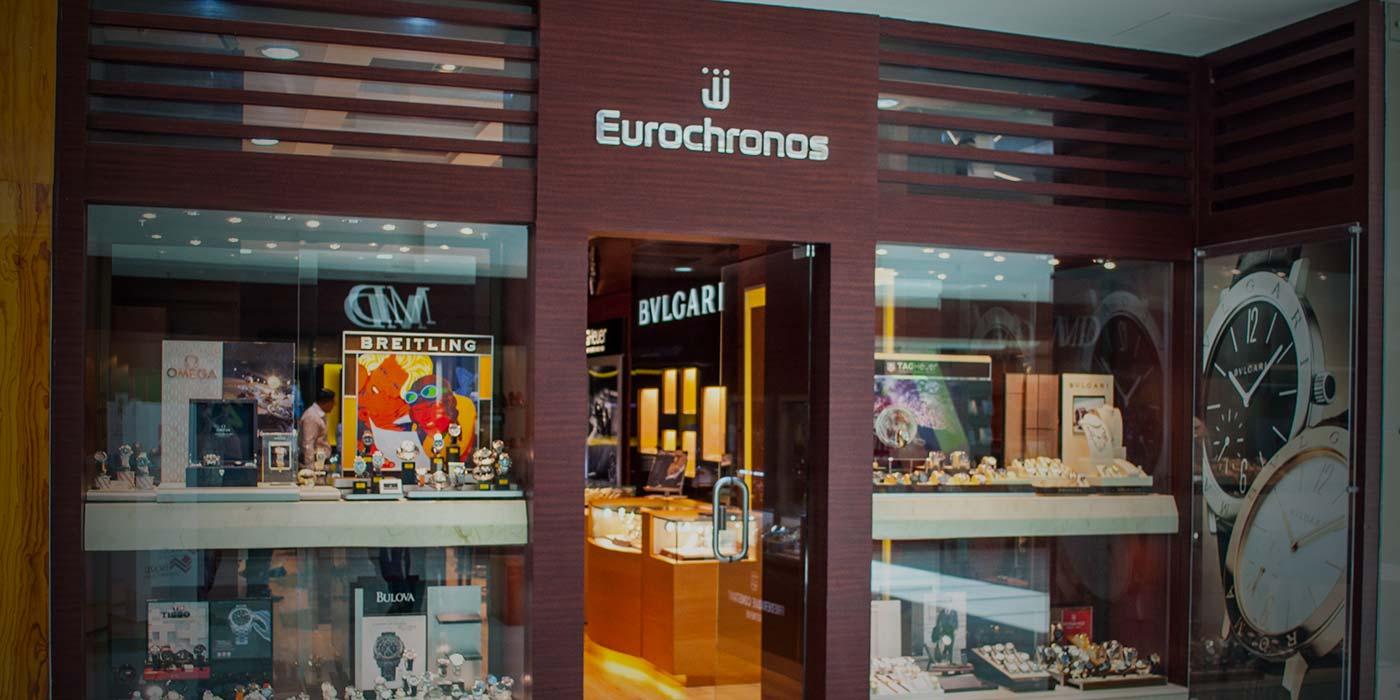 Eurochronos store in Multiplaza Ezcazu
