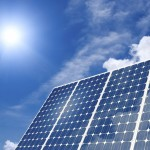 Solar panel harness energy of the sun. Image for illustrative purposes.
