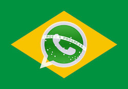 WhatsApp is among the most popular Internet applications in Brazil