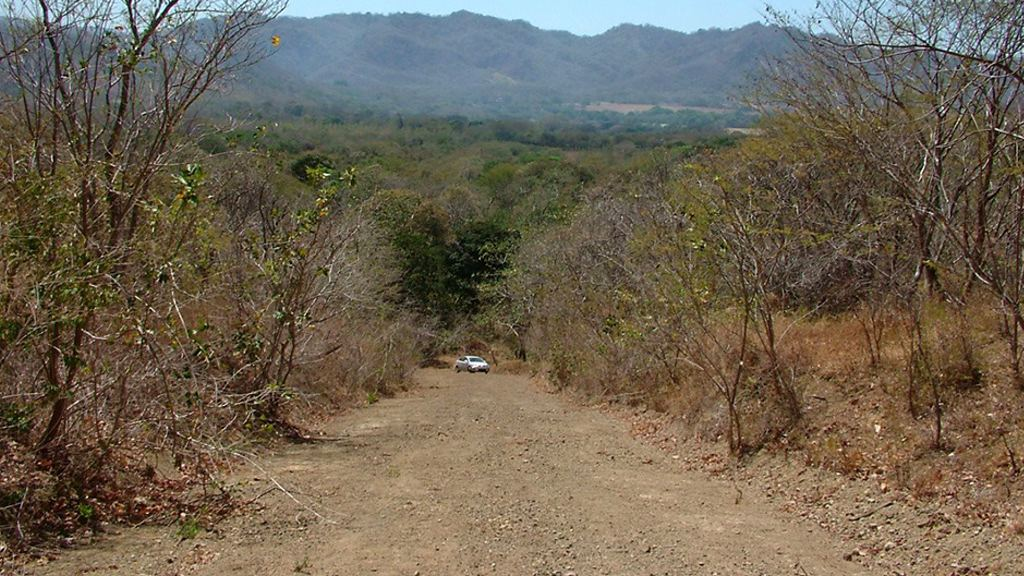 Canada's CBC news says it visited some of Lalonde's Costa Rican projects in April 2016. The land is dusty, dry and undeveloped. Investors expected electricity and water hook-ups as part of the original deal, but 10 years later, there doesn't seem to have been much progress at El Escape or Howler Ridge, save for a pothole-ridden dirt road. Undeveloped property at El Escape in Costa Rica. (Courtesy Daphne Buhlert)