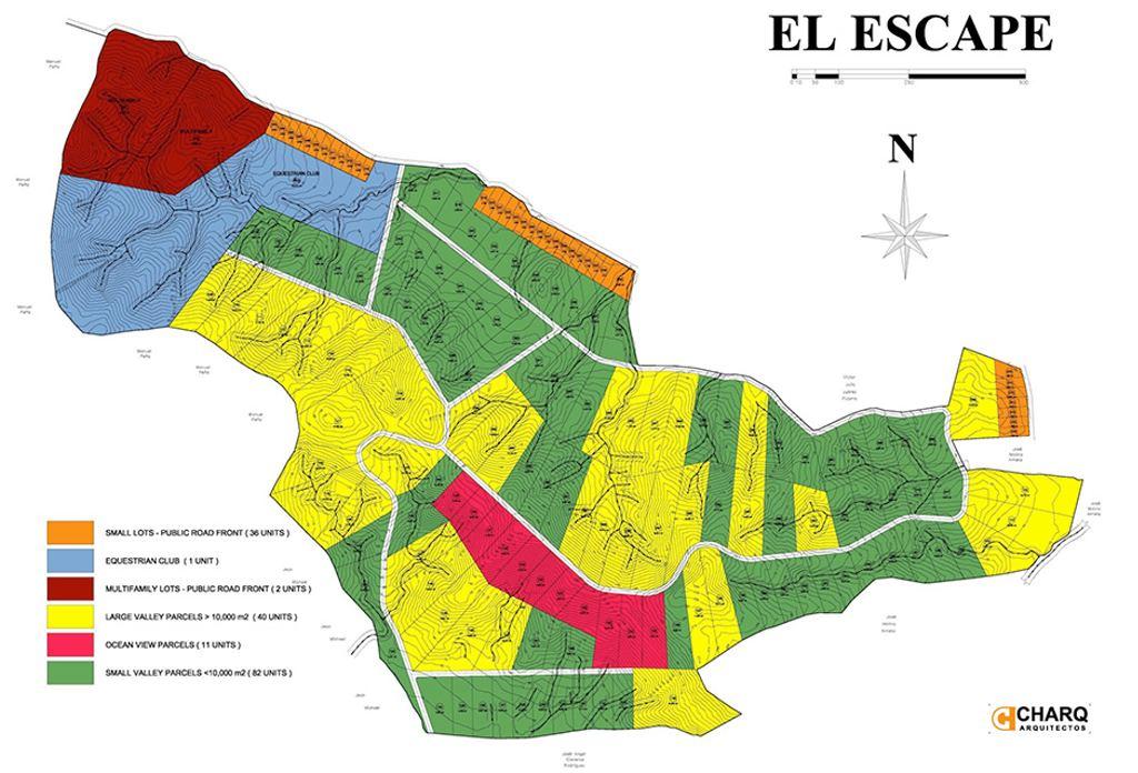 Architect's plans for the El Escape development included a large equestrian club. (El Escape/Facebook)